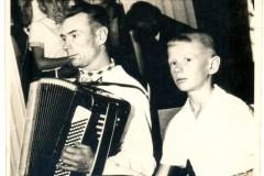 Іван Гой  з сынам